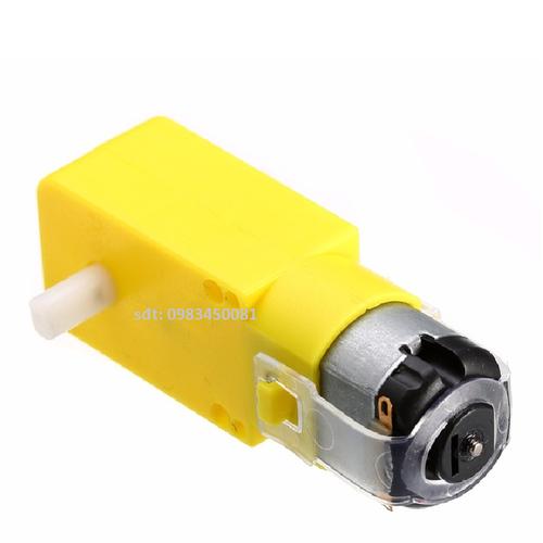 2 Chiếc Động cơ giảm tốc V1 DC MOTOR 1:120 màu vàng 3-6V chuyên chế các loại robot đơn giản  và các mô hình như ô tô, xe tăng... - 10757090 , 11037443 , 15_11037443 , 55000 , 2-Chiec-Dong-co-giam-toc-V1-DC-MOTOR-1120-mau-vang-3-6V-chuyen-che-cac-loai-robot-don-gian-va-cac-mo-hinh-nhu-o-to-xe-tang...-15_11037443 , sendo.vn , 2 Chiếc Động cơ giảm tốc V1 DC MOTOR 1:120 màu vàng 3-6