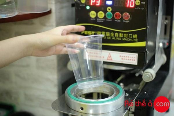 Máy dập cốc trà sữa tự động Fest RC95 - ảnh 5