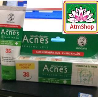 Kem trị mụn - 2 Bộ kem và sữa rửa mặt - atmshop - atmshop-acness thumbnail