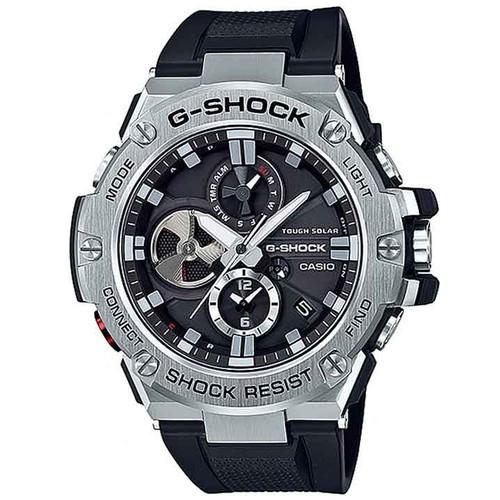 ĐỒNG HỒ G-SHOCK GST-B100-1A BLUETOOTH G-STEEL NĂNG LƯỢNG MẶT TRỜI