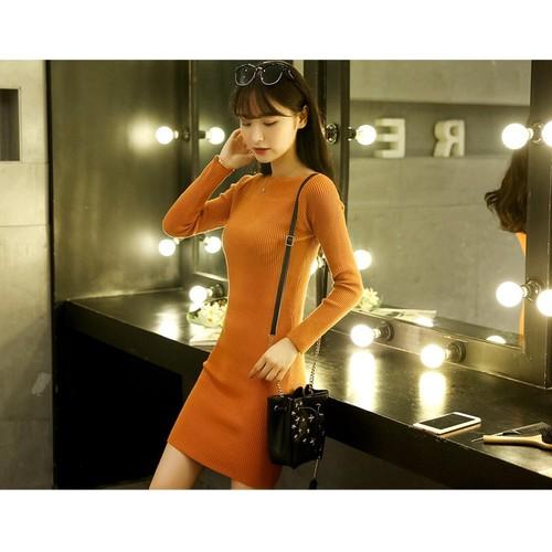 Đầm len body  khoe dáng gợi cảm - DL02