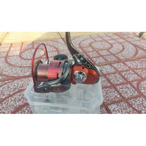 Máy câu cá đẹp  chất Yolo SPYRA 6000