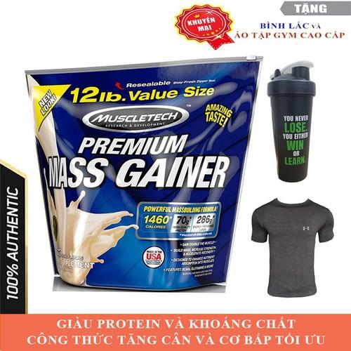 Sữa tăng cân Premium Mass Gainer hương Vanilla bịch 5.4 kg - 10763782 , 11066652 , 15_11066652 , 1500000 , Sua-tang-can-Premium-Mass-Gainer-huong-Vanilla-bich-5.4-kg-15_11066652 , sendo.vn , Sữa tăng cân Premium Mass Gainer hương Vanilla bịch 5.4 kg