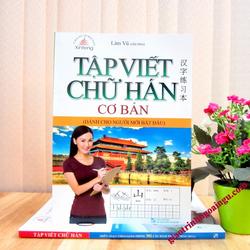 Sách Tập viết chữ Hán cơ bản dành cho người mới bắt đầu