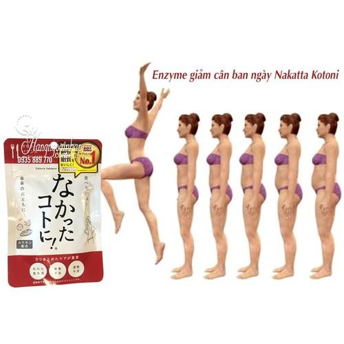 Viên uống giảm cân ban ngày  Nhật Bản