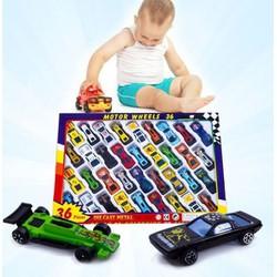 Bộ sưu tập 32 ô tô cho bé