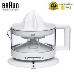 Máy vắt cam Braun CJ3000 - Trắng - 8021098773005