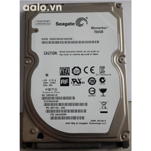 Ổ cứng HDD Laptop Seagate 750GB