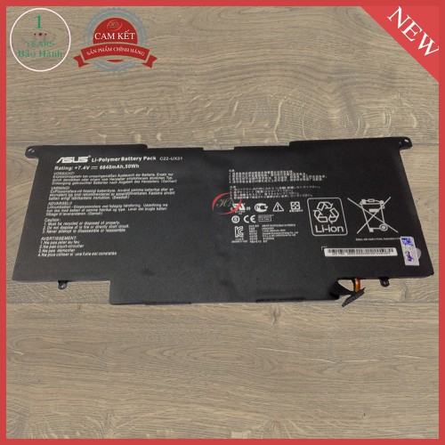 Pin Laptop Asus Zenbook UX31A C4032H