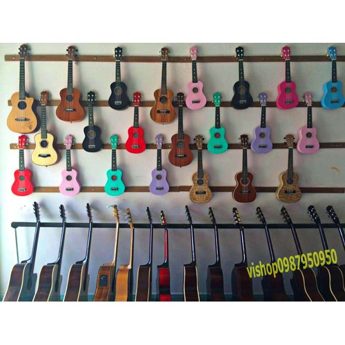 đàn ghita ukulele dây cước cao cấp 58cm