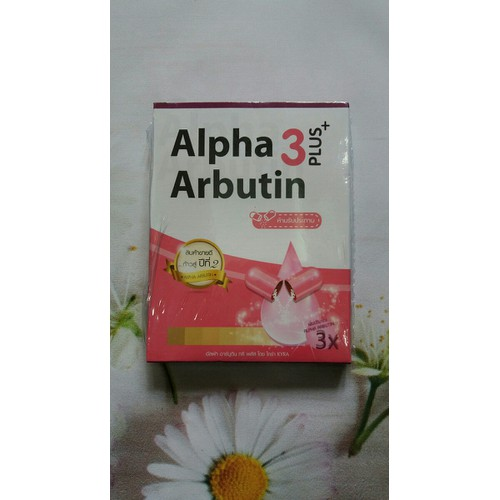 Viên kích trắng alpha arbutin Thái Lan
