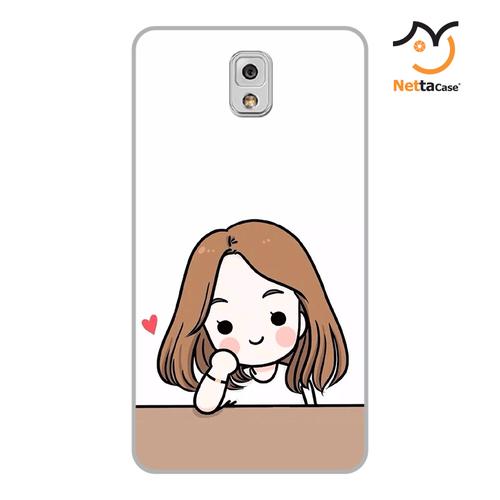 Ốp lưng điện thoại Samsung Note 3 - Couple Girl 03