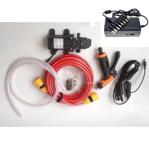 Bộ Máy bơm rửa xe tăng áp lực nước mini kèm adapter 96w - 5194592 , 11486717 , 15_11486717 , 490000 , Bo-May-bom-rua-xe-tang-ap-luc-nuoc-mini-kem-adapter-96w-15_11486717 , sendo.vn , Bộ Máy bơm rửa xe tăng áp lực nước mini kèm adapter 96w