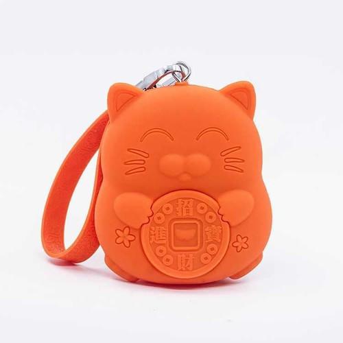 Ví tiền mèo thần tài may mắn Maneki Neko