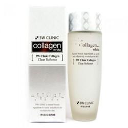 Nước hoa hồng dưỡng trắng 3W Clinic Collagen White Clear Softener