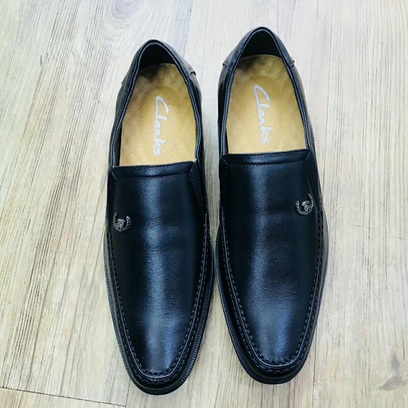 Giày Mọi Đế Tây CLARKS HN 7231 đen 2