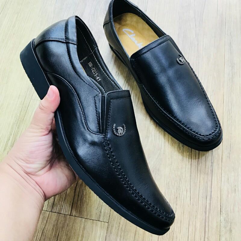 Giày Mọi Đế Tây CLARKS HN 7231 đen 6