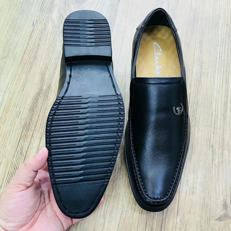 Giày Mọi Đế Tây CLARKS HN 7231 đen 4