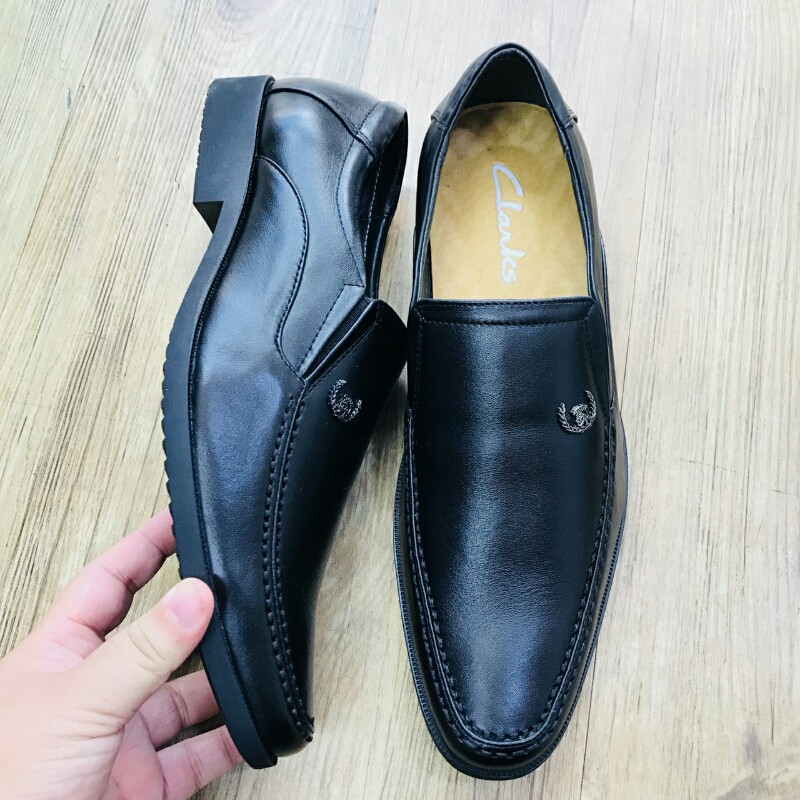 Giày Mọi Đế Tây CLARKS HN 7231 đen 3