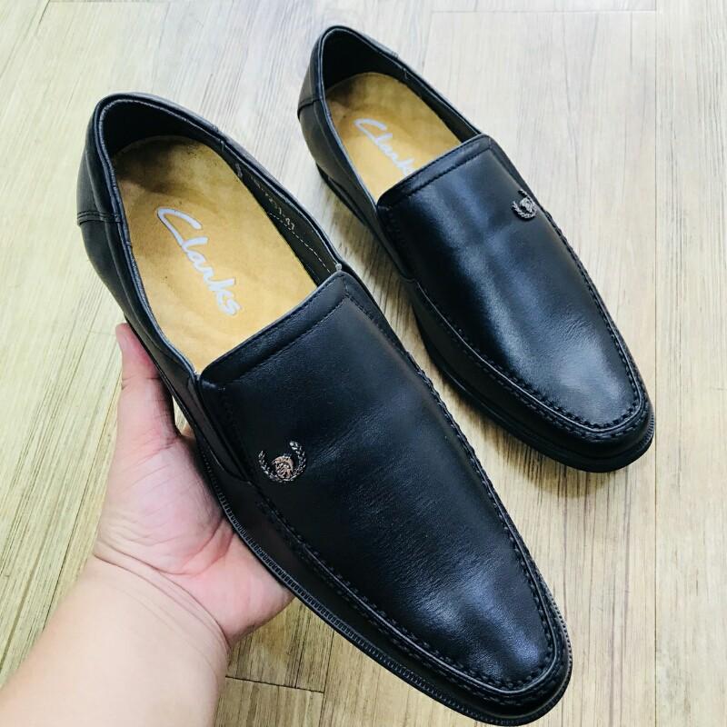 Giày Mọi Đế Tây CLARKS HN 7231 đen 7