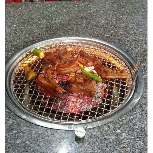Bếp Nướng Than Hoa Không Khói Hàn Quốc  Hút Trên dành cho nhà hàng