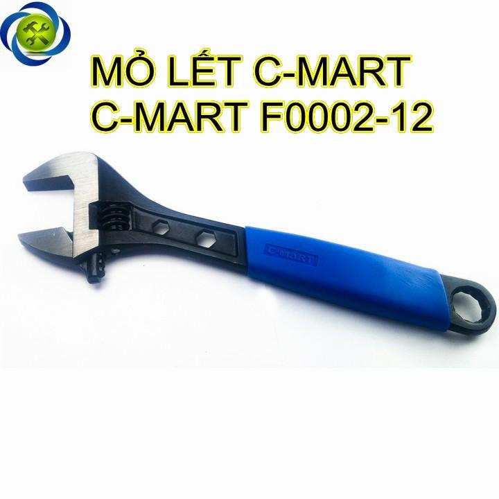 Mỏ lết C-MART F0002-12 bọc nhựa 12 inch 300mm 1
