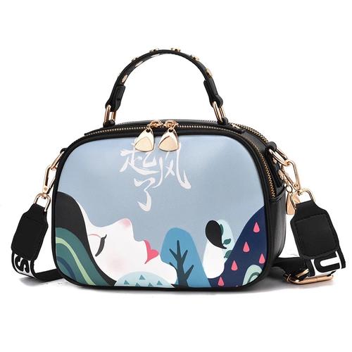 [ HOT TREND] túi đeo chéo Quảng Châu dáng hộp xu hướng 2019