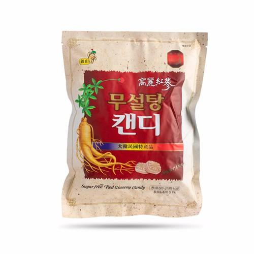 Kẹo Hồng Sâm Không Đường Koryo 500g