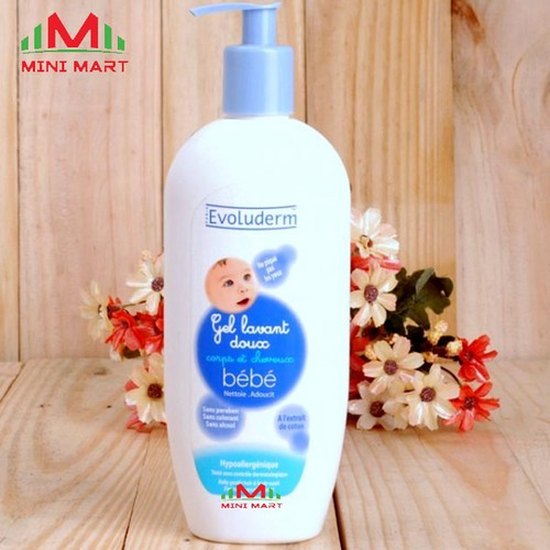 TẮM GỘI BABY BE BE EVOLUDERM 500ml