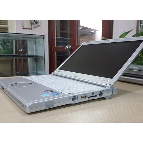 Laptop siêu bền Panasonic CF SX2 Core i5 Made in Japan. Bảo hành 1 năm