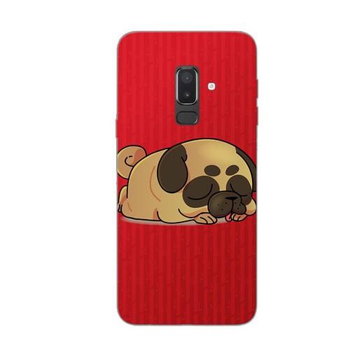 Ốp lưng điện thoại samsung galaxy j8 - kute dog 03