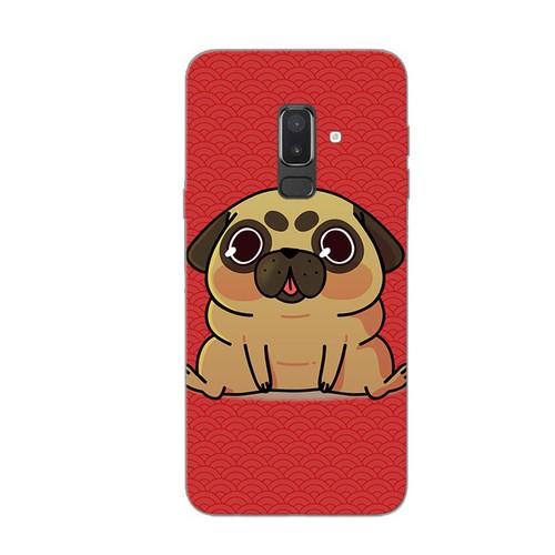 Ốp lưng điện thoại samsung galaxy j8 - kute dog 02
