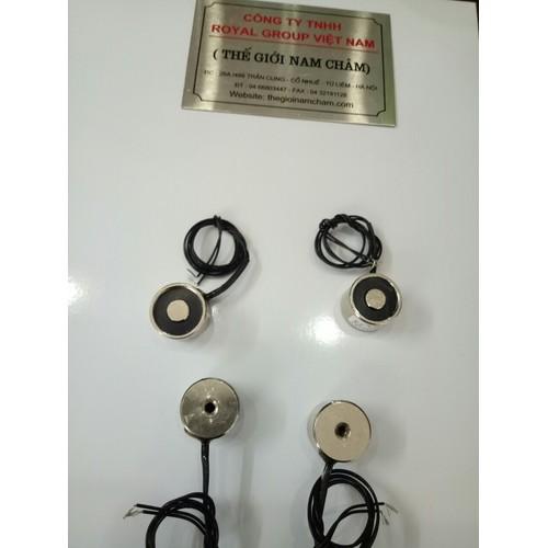 Nam châm điện 25N 2.5kg - 12V - 5289257 , 11619418 , 15_11619418 , 95000 , Nam-cham-dien-25N-2.5kg-12V-15_11619418 , sendo.vn , Nam châm điện 25N 2.5kg - 12V