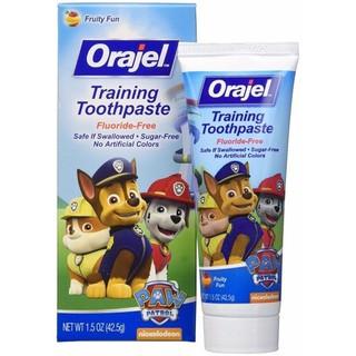Kem đánh răng Paw Orajel Training Toothpaste nuốt được cho trẻ em - MP1247 thumbnail