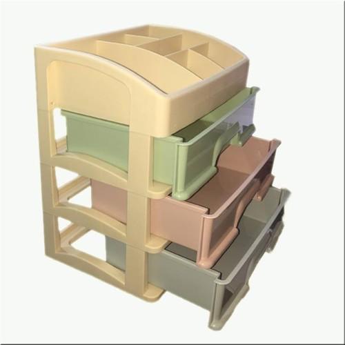 Tủ nhựa 4 tầng đa năng - Kệ mỹ phẩm 4 tầng