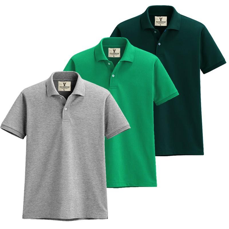 Áo thun nam cổ bẻ chuẩn mọi phong cách Pigofashion AB19 - 3 - nhiều màu 10