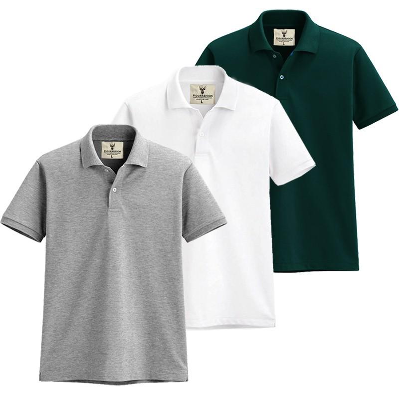 Áo thun nam cổ bẻ chuẩn mọi phong cách Pigofashion AB19 - 3 - nhiều màu 12