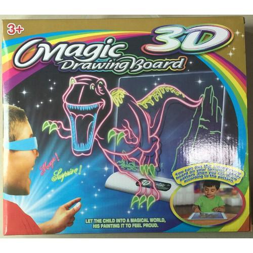 Bộ vẽ hình ma thuật đèn led phóng 3D cực đẹp cho trẻ CP[N6017]
