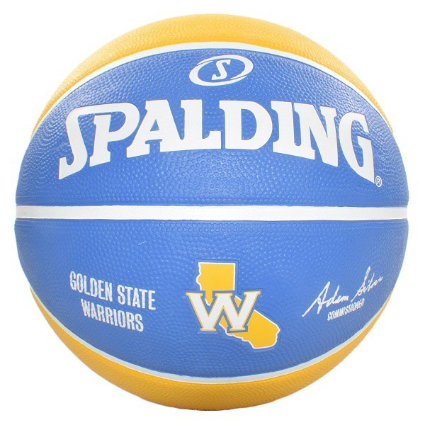 Bóng rổ Spalding NBA Team Golden State Warriors 2017 Outdoor size 7 1