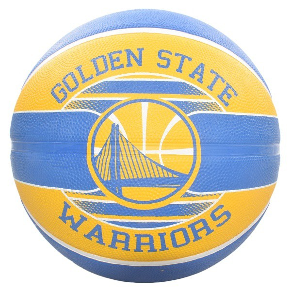 Bóng rổ Spalding NBA Team Golden State Warriors 2017 Outdoor size 7 5
