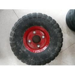 bánh xe đỏ 25cm có kèm bi