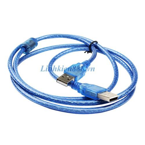 Cáp USB 2.0 đực sang USB 2.0 đực dài 30cm