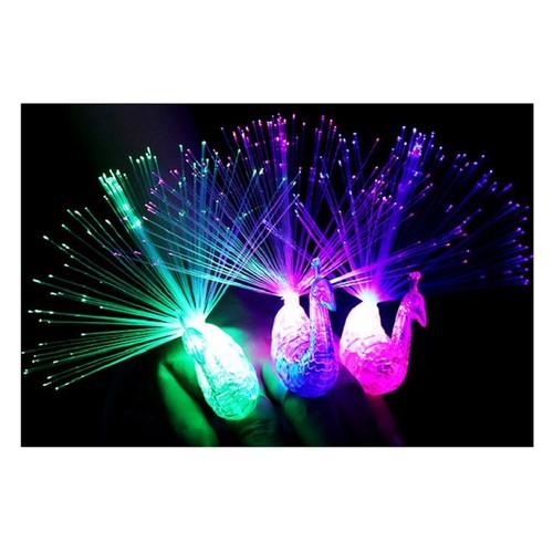 Con công phát sáng đeo ngón tay led sáng siêu đẹp CP[N6058]
