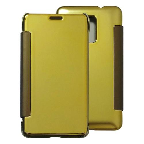 Bao da gương Huawei Honor 7 Lite vàng