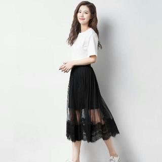 Sale khủng chân váy dài phối ren đẹp [ĐƯỢC KIỂM HÀNG] 11626070 - 11626070 thumbnail