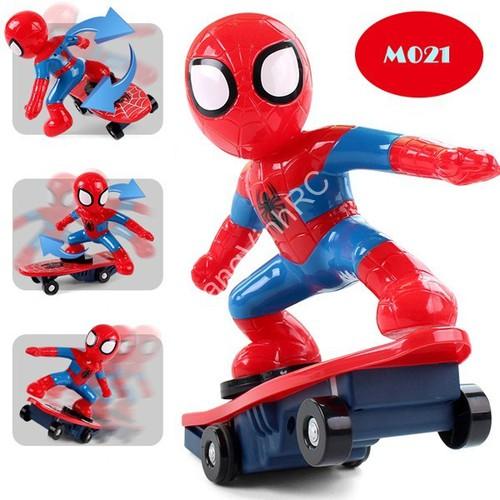 Đồ chơi người nhện trượt ván cho trẻ vui nhộn CP[N6019]