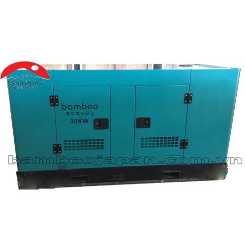 Máy phát điện Bamboo 30KW chạy dầu BMB 38800A chống ồn
