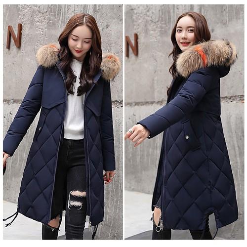 Áo khoác phao nữ dáng dài siêu ấm cao cấp, hàng nhập, chất đẹp
