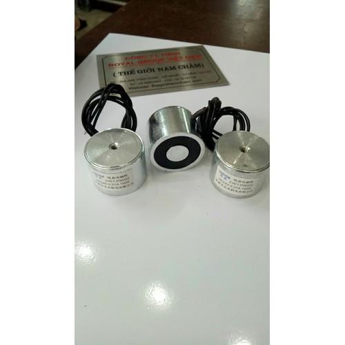 Nam châm điện 100N 10kg - 24V