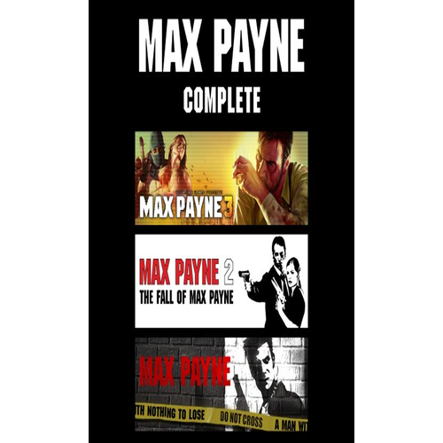 Game PC - Max Paynex Complete [ 3 in 1 ]